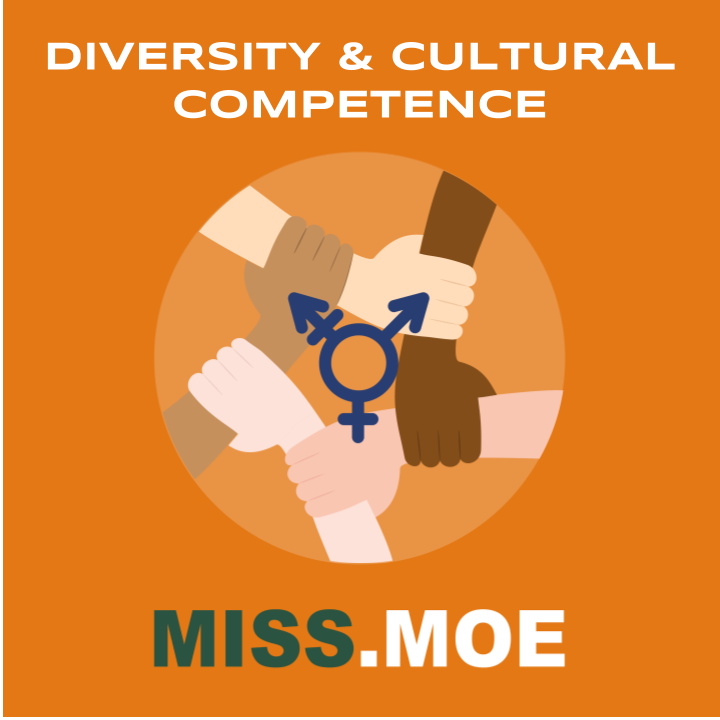 Sample of the digital badge for the Diversity and Cultural Competence category