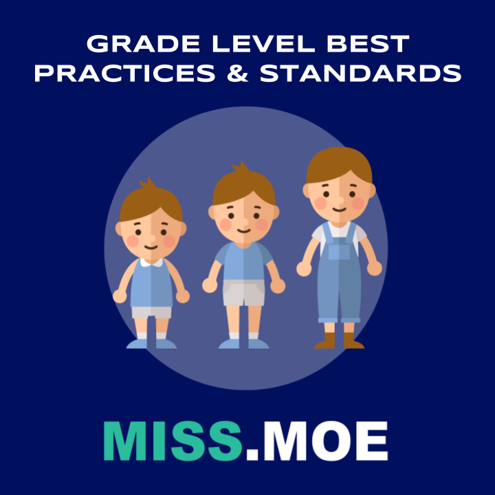 Sample of the digital badge for the Grade Level Best Practices and Standards category