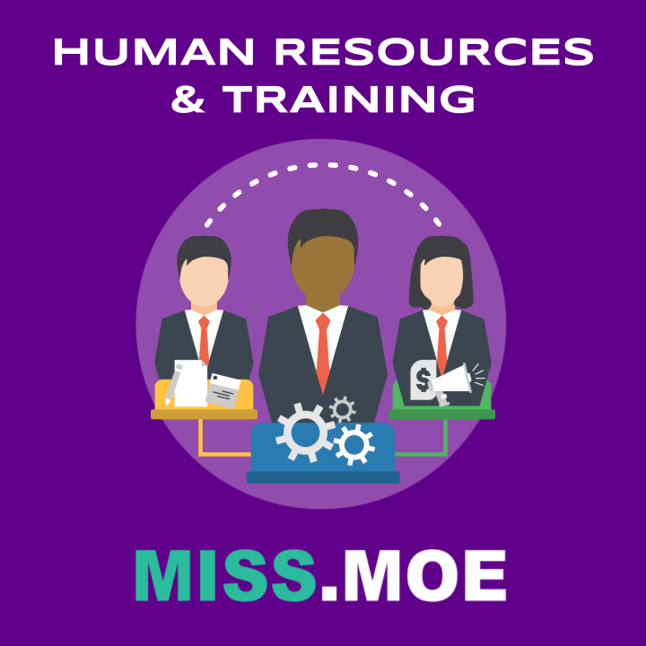 Sample of the digital badge for the Human Resources and Training category