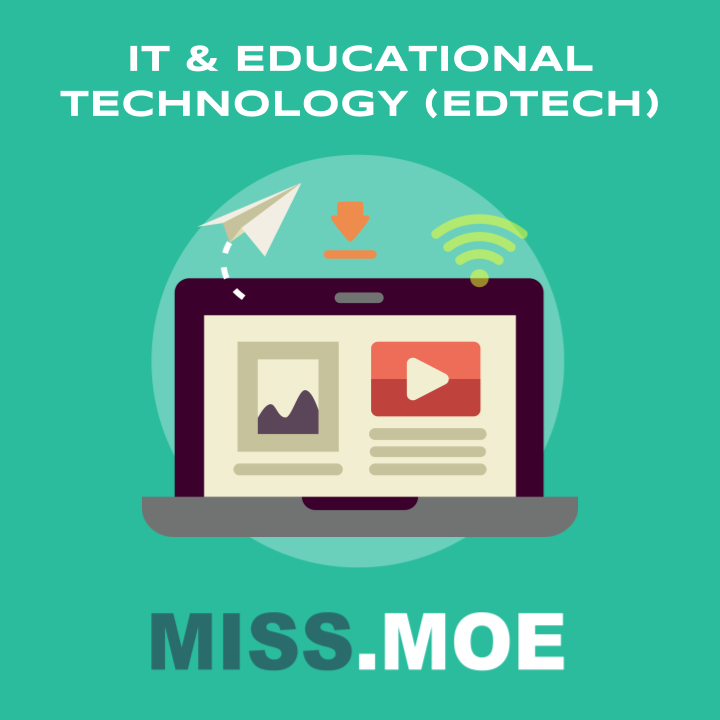 Sample of the digital badge for the IT and Educational Technology or EdTech category