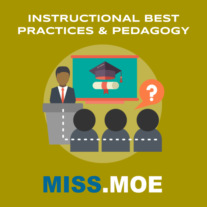 Sample of the digital badge for the Instructional Best Practices and Pedagogy category