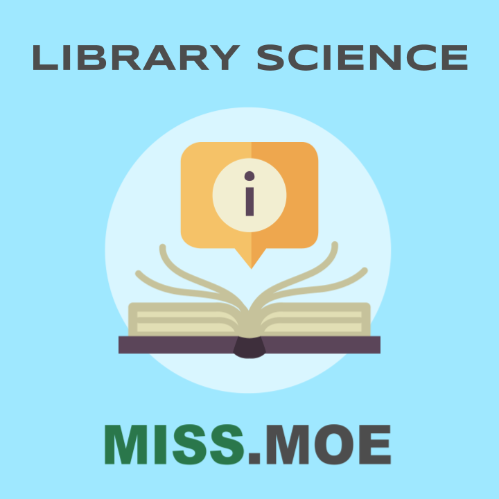 Sample of the digital badge for the Library Science category