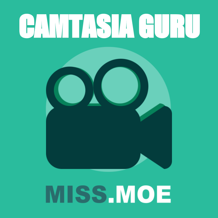 Sample of the Camtasia Guru digital badge for this course.