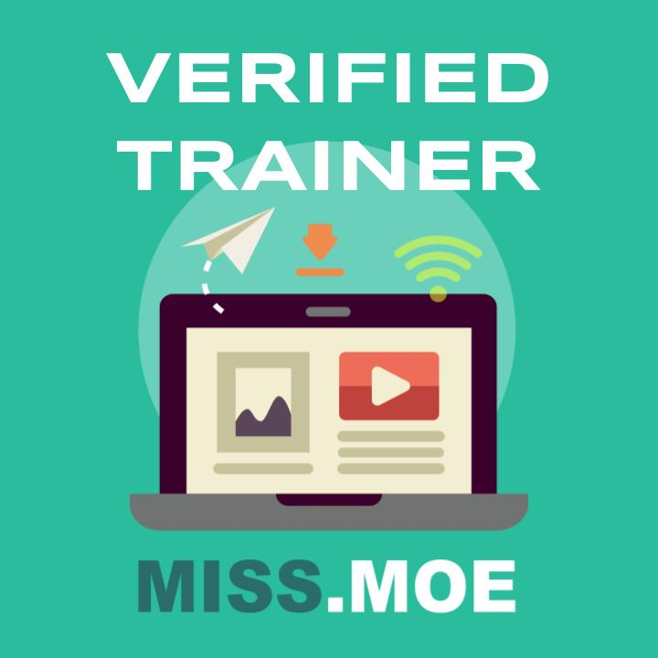 MISS.MOE Verified Trainer